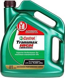 Castrol 03518 Transmax ATF Green High Mileage Transmission Fluid – 1 Gallon