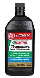 Castrol 06814-6PK Transmax Import Multi-Vehicle Automatic Transmission Fluid – 1 Quart, (Pack of 6)