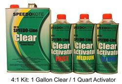 Clear Coat 2K Acrylic Urethane, SMR-1150/1103-Q 4:1 Gallon Clearcoat Slow Kit