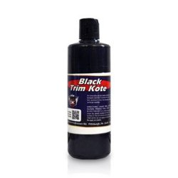 Detail King Trim Kote Plastic and Trim Restorer – 16oz (Black) | Safe and Easy to Use | Works Great on Mouldings, Bumpers, Mirrors and More!