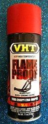 Duplicolor High Temp Exhaust Flameproof Paint, VHT Flat Red, Pt# SP109, sp 109