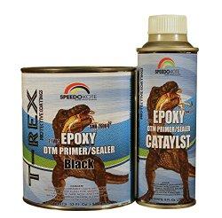 Epoxy Fast Dry 2.1 low voc DTM Primer & Sealer Black Quart Kit, SMR-260B-Q/261-8