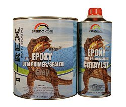 Epoxy Fast Dry 2.1 low voc DTM Primer & Sealer Gray Gallon Kit, SMR-260G/261