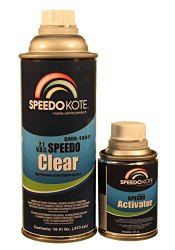 Extremely Fast Clear Coat, 2.1 voc Spot Clearcoat med Pint Kit, SMR-100-P/150-4