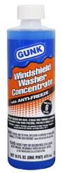 Gunk M516-12PK Windshield Washer Concentrate with Anti-Freeze – 16 oz., (Case of 12)