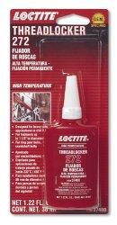Loctite 37480-6PK Red High Temperature Threadlocker 272, 36-milliliter Bottle, (Pack of 6)