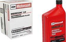 Motorcraft MERCON LV Automatic Transmission Fluid (ATF) **12 Quart Case**