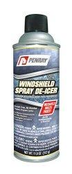 Penray 5216 Windshield Spray De-Icer – 12.3-Ounce Aerosol Can