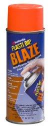 Performix 11218 Plasti Dip Blaze Orange Multi-Purpose Rubber Coating Aerosol – 11 oz.
