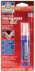 Permatex 27010-6PK High Strength Threadlocker Red Gel Twist, 10 g (Pack of 6)