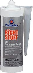 Permatex 34311 The Right Stuff Grey Gasket Maker, 5 oz.