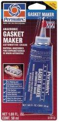 Permatex 51813-6PK Anaerobic Gasket Maker, 50 ml Tube (Pack of 6)