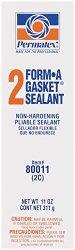 Permatex 80011 Form-A-Gasket #2 Sealant, 11 oz.