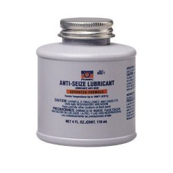 Permatex 80071-12PK Anti-Seize Lubricant with Brush Top Bottle, 4 oz. (Pack of 12)