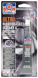Permatex 85409 Ultra Rubber Gasket Sealant and Dressing, 1 oz. tube