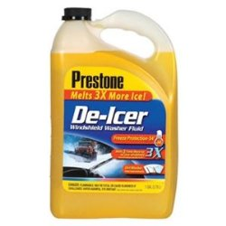 Prestone As-250 De-icer Windshield Washer Fluid, 1 Gallon (Pack of 6)