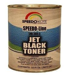 SpeedoKote SMR-3805 – Jet Black base coat toner replacement, for basecoat, Quart