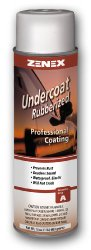 Zenex Undercoat Premium Rubberized Undercoating – 12 Cans (Case)