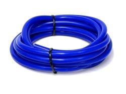HPS HTSVH6-BLUEx5 Blue 5′ Length High Temperature Silicone Vacuum Tubing Hose (60 psi Maxium Pressure, 1/4″ ID)