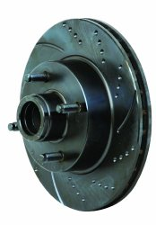 EBC Brakes GD7336 3GD Series Dimpled and Slotted Sport Rotor