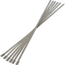 Heatshield Products 350010 Thermal Tie 3/16″ Wide x 10″ Long Stainless Steel locking Tie