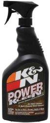 K&N 99-0621 Air Filter Cleaner and Degreaser – 32 oz. Trigger Sprayer