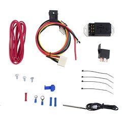 Mishimoto MMFAN-CNTL-UPROBE Black Adjustable Fan Controller Kit