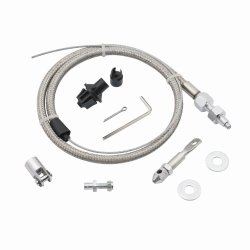 Mr. Gasket 5657 Steel Braided Throttle Cable Kit