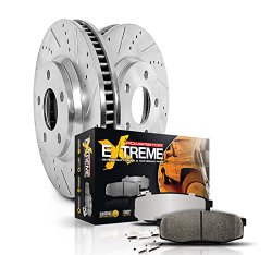 Power Stop (K2798-36) Z36 Extreme Severe-Duty Truck & Tow Brake Kit, Front and Rear