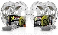 Power Stop K2853-26 1-Click Street Warrior Z26 Brake Kit