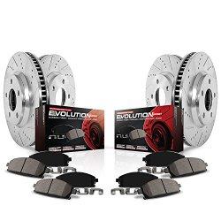 Power Stop (K6268) Z23 Evolution Sport Brake Kit, Front and Rear