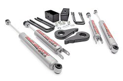 Rough Country – 283N2 – 1.5-2-inch Suspension Leveling Lift Kit w/ Premium N2.0 Shocks