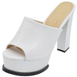 ASVOGUE Summer Women Platform Peep Toe high heel Sandals