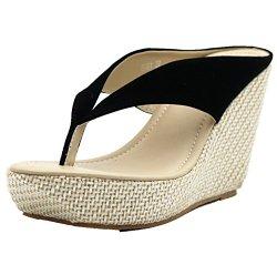 Crystal Queen Women Fashion Wedge Sandals Women's Wedge Flip-Flop