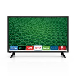 VIZIO D24-D1 D-Series 24″ Class LED Smart TV (Black)