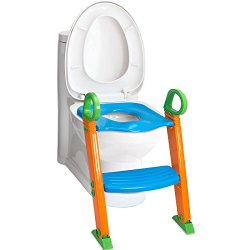 OxGord Toilet Potty Step Trainer – Deluxe Training Seat and Step- 2016 Newly Designed Model