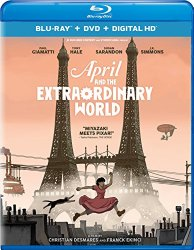 April and the Extraordinary World (Blu-ray + DVD + Digital HD)