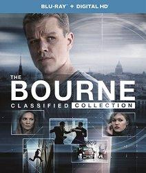 The Bourne Classified Collection (Bourne Identity / Bourne Supremacy / Bourne Ultimatum / Bourne Legacy) (Blu-ray + Digital HD)