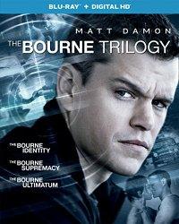 The Bourne Trilogy (Bourne Identity / Bourne Supremacy / Bourne Ultimatum) (Blu-ray + Digital HD)