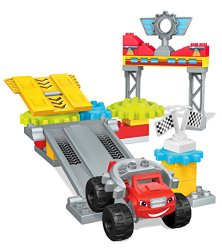 Mega Bloks Blaze Axle City Garage Building Set