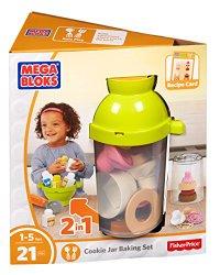 Mega Bloks First Builders Cookie Jar Baking Set Building Kit