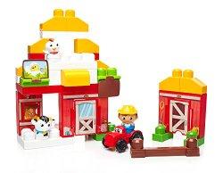 Mega Bloks First Builders Farmhouse Friends Building Set