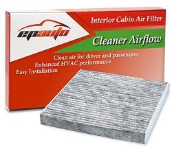 40 Pack – EPAuto CP134 (CF10134) Honda & Acura Premium Cabin Air Filter includes Activated Carbon