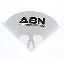 ABN Paint Micron Strainer Cone Shaped Fine 190 Mesh Nylon Funnel Premium Grade Disposable, For Use in Automotive, Arts and Crafts, Hobby, All Painting (40PACK)