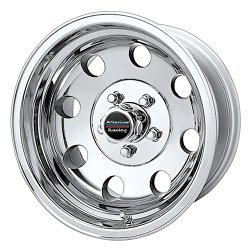 American Racing Custom Wheels AR172 Baja Polished Wheel (16×8″/6×139.7mm, 0mm offset)