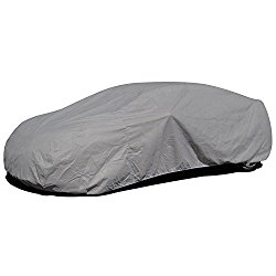 Budge Lite Car Cover Fits Sedans up to 170 inches, B-2 – (Polypropylene, Gray)