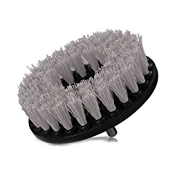 Chemical Guys ACC_201_Brush_S    Gray Carpet Brush with Drill Attachment (Light Duty),  , 1 Pack