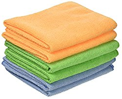 Detailer's Choice 3-606 Microfiber Cleaning Cloth Roll – 6-Pack