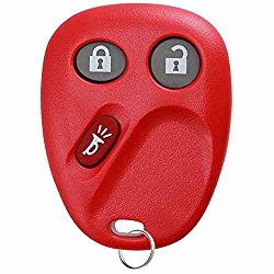 KeylessOption Keyless Entry Remote Control Car Key Fob Replacement for LHJ011 – Red