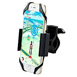 Metal Bike Mount, Ipow Heavy Duty Cellphone Bike Holder Cradle For Iphone 6S 6 Plus/6S/65s/5c/4s, Galaxy S6/s5/s4/s3/s2, Note 5/4/3/2 Nexus Lg Nokia Moto HTC and Most Phone Device